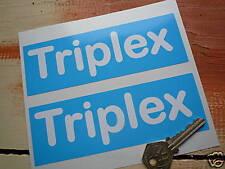 """TRIPLEX Classic Racing Auto Sponsor Stile Adesivi 6 """"PAIR ROVER team TRIUMPH"""