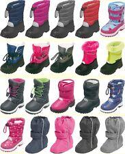Playshoes Winter Stiefel Schnee Boots gefüttert Mädchen Jungen Kinder Gr.16 - 29