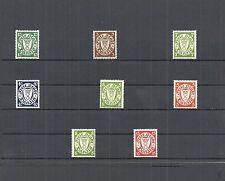 Danzig, Gdansk 1932, Einzelmarken aus MiNrn: 194 - 301 *, ungebraucht *, Auswahl