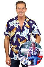 Original Tom Selleck Magnum, P.I. Hawaiihemd Shirt Calla Lily made in Hawaii