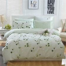 Cotton Doona/Quilt/Duvet/Covers Set Floral Single Double Queen King Size Bedding