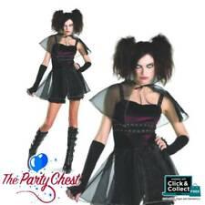 VAIN VAMPIRE HALLOWEEN COSTUME Ladies Vampire Halloween Fancy Dress Outfit 3455