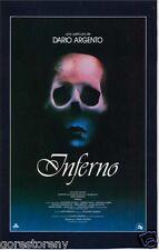 INFERNO Movie Poster Dario Argento Suspiria Horror