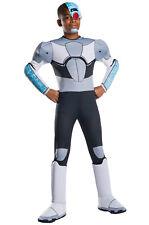 Brand New Teen Titans Go! Deluxe Cyborg Child Costume