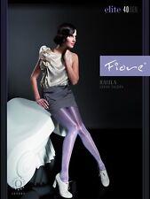 "Fiore ""Raula"" Feinstrumpfhose, Satin Sheers, 40 DEN, neu, Gr. S - L, sexy & OVP"