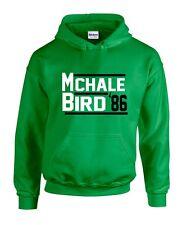 "Kevin McHale Larry Bird Boston Celtics ""86"" Jersey shirt Hooded SWEATSHIRT"