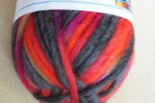 "1 Sk. SMC ""WASH+FILZ-IT""  Multi Color Felting Wool #233 Vesuv"