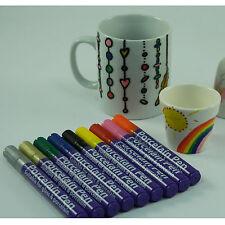 COLORATE PORCELLANA, ceramica e vetro Marker Penne per tazze e piatti Bake per sigillare