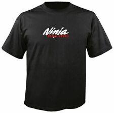 NINJA RACING T SHIRT, S-3X, motorcycle kawasaki zx14r zx 6 7 9 10 11 12 r 250 kz