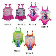Disney Frozen die Eiskönigin Badeanzug Kinder Mädchen Gr.104-134  Badehose, neu!
