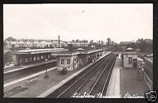 Leighton Buzzard Railway Station by P. J. Baker, L~ B~.