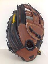 Vinci Glove model RV60 Black and Dark Brown: 13 inch CP Kip Leather Baseball Glo