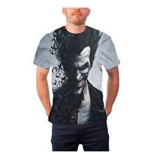 Officially Licensed Men's Batman Arkham Origins Joker Character Sub Dye T-Shirt