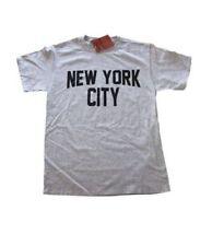 New York City Unisex T-Shirt Screenprinted Gray Lennon Tee