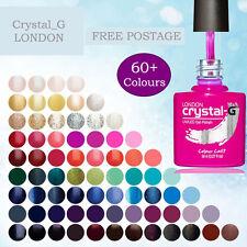 CRYSTAL-G LONDON GELLAC SALON PROFESSIONAL SOAK OFF GEL NAIL UV LED POLISH