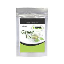 Green Tea 2000mg Capsules Strong High Strength Diet Pill Weight Loss Detox Colon
