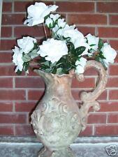 NEW WHITE  ROSE BOUQUET BUSH VALENTINE GIFT