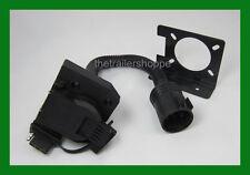 Trailer Light  Plug Adaptor 7 RV & 4 flat  Ford Chevy