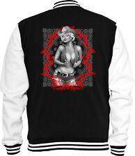 Western Sweat College Jacke Marilyn Cowboy 1 USA Cowgirl Saloon