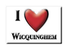 MAGNETS FRANCE - CHAMPAGNE ARDENNE AIMANT I LOVE WICQUINGHEM (PAS DE CALAIS)