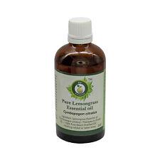 R V Essential Pure Lemongrass Essential Oil Cymbopogon Citratus Natural