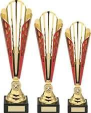 Multisport récompense stylé rouge doré coupe en plastique PRIX WINNER événement