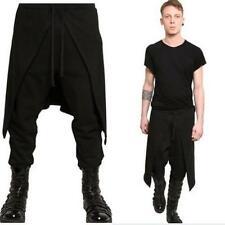 Bleubolt gothique punk goth emo rock bondage pantalon avec boucles//sangles