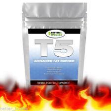 T5 Avanzato Forte Perdita Peso Dimagrante Pillole Bruciatori Grasso SAFE Dieta