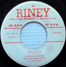 WILFREDO FIGUEROA & Jose Ramon Ortiz Trio Riney MULETO / ENTRE MIS BRAZOS 45