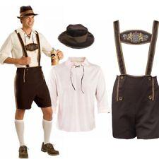 Mens Oktoberfest Octoberfest Bavarian German Beer Costume Fancy Dress Outfit Set