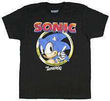 Sonic The Hedgehog Pointing Finger Sega Video Game Men's T-Shirt