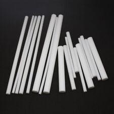 100/200/300mm Long New White PTFE Teflon Round Rod Bar 5mm/6mm/8mm/10mm/12mm Dia