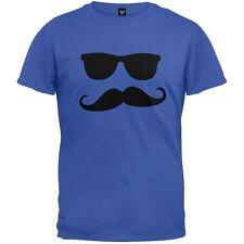 Mustache Man Adult Mens T-Shirt