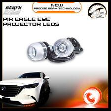 Eagle Eye 18mm Bright Projector PIR 3SMD LED Fog Light DRL Backup Signal - RED