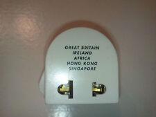 Universal World AC Power Socket Plug Adapter US EU UK