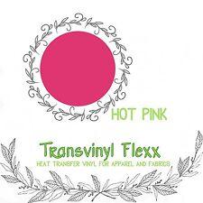 """Heat Transfer Vinyl Soft Stretch Cutting 10"""" Fuchsia:)"""