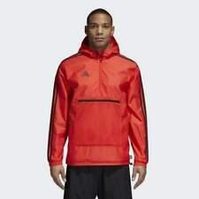 Adidas Men's Tango Windbreaker Jackets Cz3977 Hi-Res Red S M Xl 2Xl