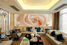 Papel Pintado Mural De Vellón Blanco Rosas Flores 2 Paisaje Fondo De Pantalla ES