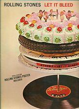 "THE ROLLING STONES - LET IT BLEED DECCA SLK 16 640-P 12"" LP (L9888)"