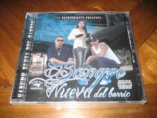 Chicano Rap CD Sangre Nueva del Barrio - Lento La Desovediente Faded - Latin