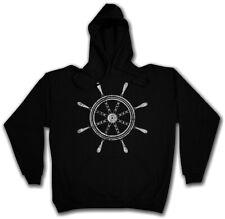 Nautical Wheel Hoodie sudaderas timón Segler barco de vela Star Sailor