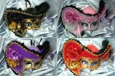 Womens Light Pirate Halloween Theater Costume Venetian Masquerade Mask