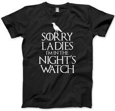 Désolé Mesdames je suis dans les nuits Montre Homme Unisexe T-Shirt
