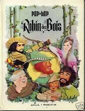 POP-UP. ROBIN DES BOIS. GP 1969  HALLMARK