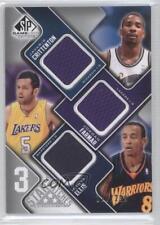 2009-10 SP Game Used #3S-EFC Jordan Farmar Monta Ellis Javaris Crittenton Card