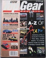 Top Gear 09/1995 featuring Lotus Esprit S4S, Daimler Double Six, Mercedes, BMW