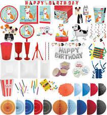 Kinder-Geburtstag Party Deko Feier Fete Motto Hund