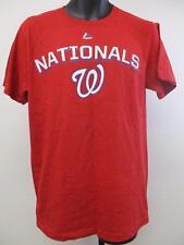 Neuf Washington Nationals pour Hommes Tailles S-M-L-XL-2XL Majestic Rouge