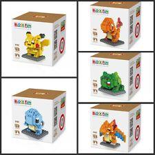 Colección de Pokemon Serie Nano Bloque bloques de construcción bloques Set Mini Juguetes Regalo
