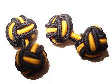 Ralph Lauren Polo Blue Rugby Silk Knots Cufflinks